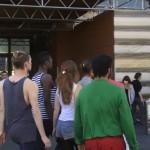 Flash Mob an der Hauptwache 17 Uhr